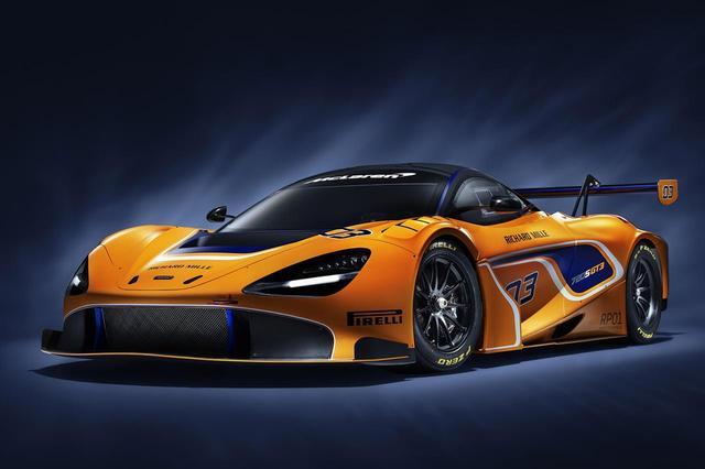 画像: マクラーレン720S GT3。