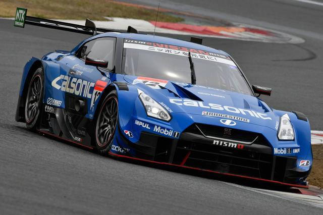 画像: シーズン前のテストで好調な走りを見せたカルソニック IMPUL GT-R 佐々木 大樹/ジェームス・ロシター(TEAM IMPUL)。