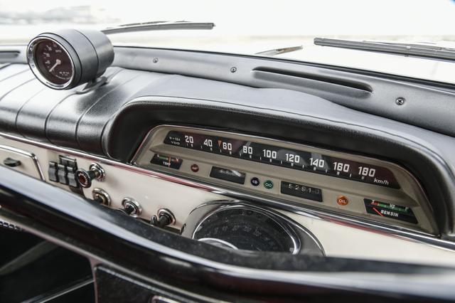 画像: 左から右に針が移動するタイプのスピードメーター。計器類はすべて正常に動いている。