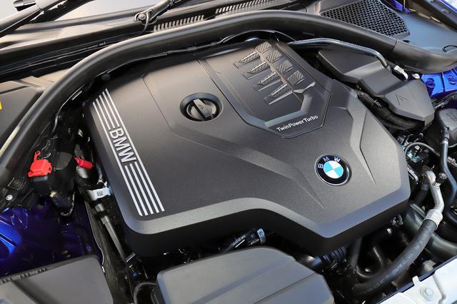 画像: 試乗した330i Mスポーツには、258psを発生する2L直4ターボエンジンを搭載。このほかに日本専用にデチューンされた2L直4ターボエンジンを設定し、徐々にラインアップを拡大予定だ。