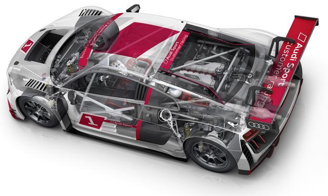 画像: 基本的なメカニズムは量産車と同様だが、規定によりクワトロでなく後輪駆動となる。