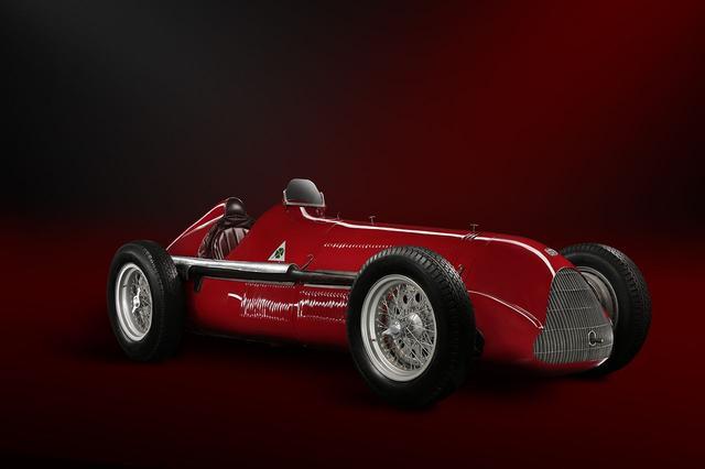 画像: 名車アルファロメオ ティーポ158。1950年のF1を席巻した。