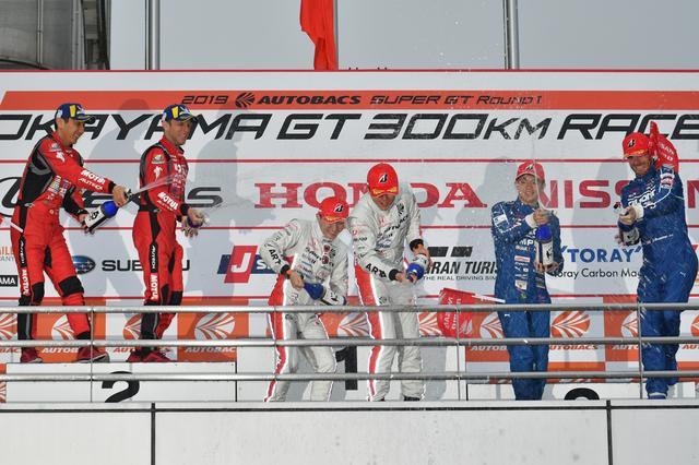 画像7: ARTA NSX-GTが波乱のレースで勝利!【スーパーGT選手権 Rd01 岡山国際サーキット】