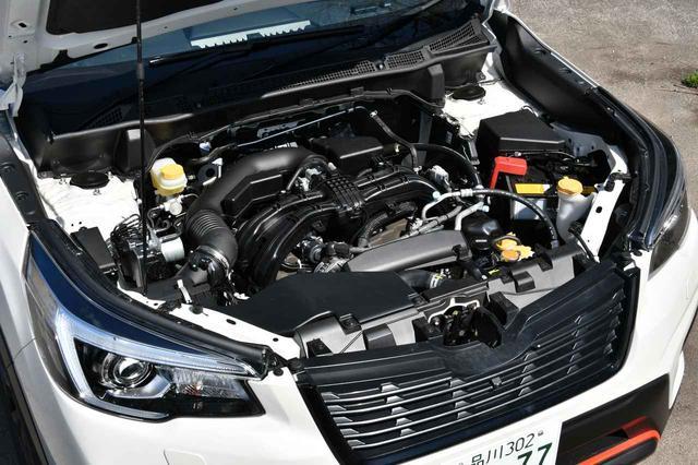 画像: FB25型水平対向2.5リッターDOHC自然吸気エンジン。