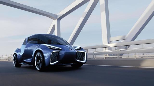 画像: 中国の研究開発拠点で開発されたコンセプト車「RHOMBUS」
