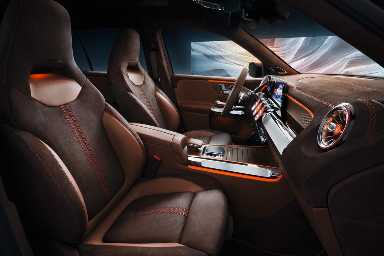 Images : 4番目の画像 - 「まるでクロカン?  3列シートSUVの「コンセプトGLB」をメルセデス・ベンツが上海モーターショーで発表」のアルバム - Webモーターマガジン