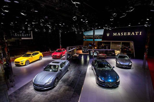 画像: 上海モーターショー2019マセラティブース。