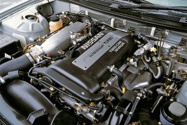 画像: SR20DET型はS13型の205psから220psまでパワーアップ。+15psの余裕で70kgの車重増加の相殺を狙った。