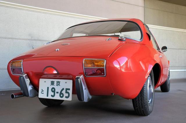 画像: トヨタ スポーツ800はパブリカベースのFRスポーツだった。