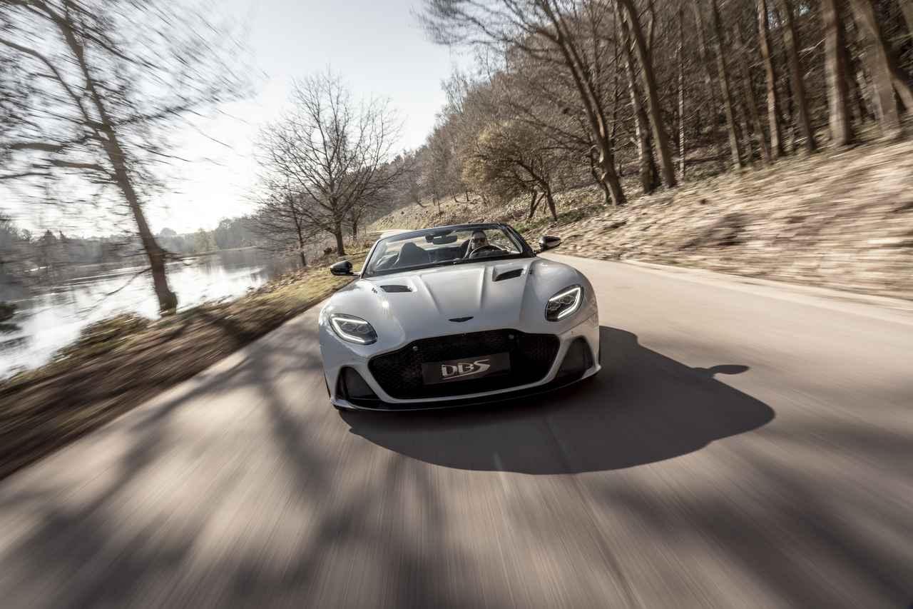 Images : 10番目の画像 - 「アストンマーティン DBS スーパーレッジェーラ ボランテは、V12ツインターボ搭載のオープンカー」のアルバム - Webモーターマガジン