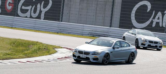 画像: 同乗プログラム:プロドライバーが運転するBMW MやTeam Studie RACING CARに同乗するプログラム。