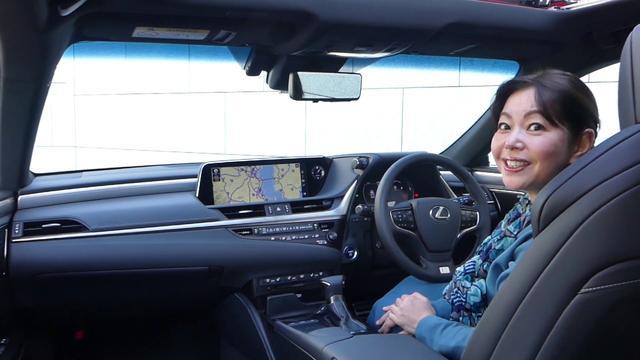 画像: 竹岡 圭の今日もクルマと・・・レクサスES Test Drive youtu.be