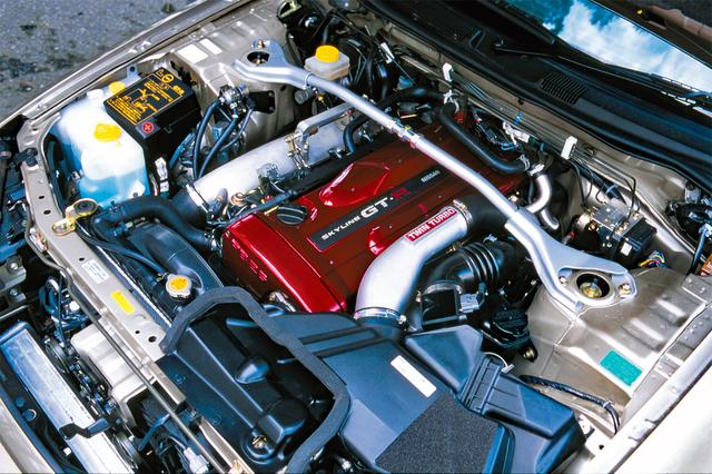 画像: 名機RB26DETTはバルタイの変更、タービンの換装などでさらに性能をアップ。R32から3代目で完成形に。
