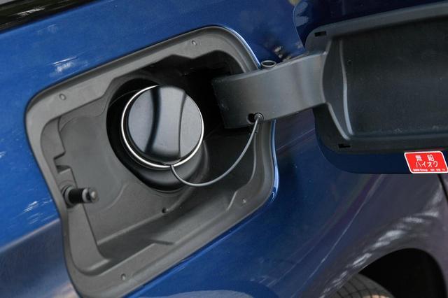 画像: 燃料キャップにもバルブが内蔵されている。