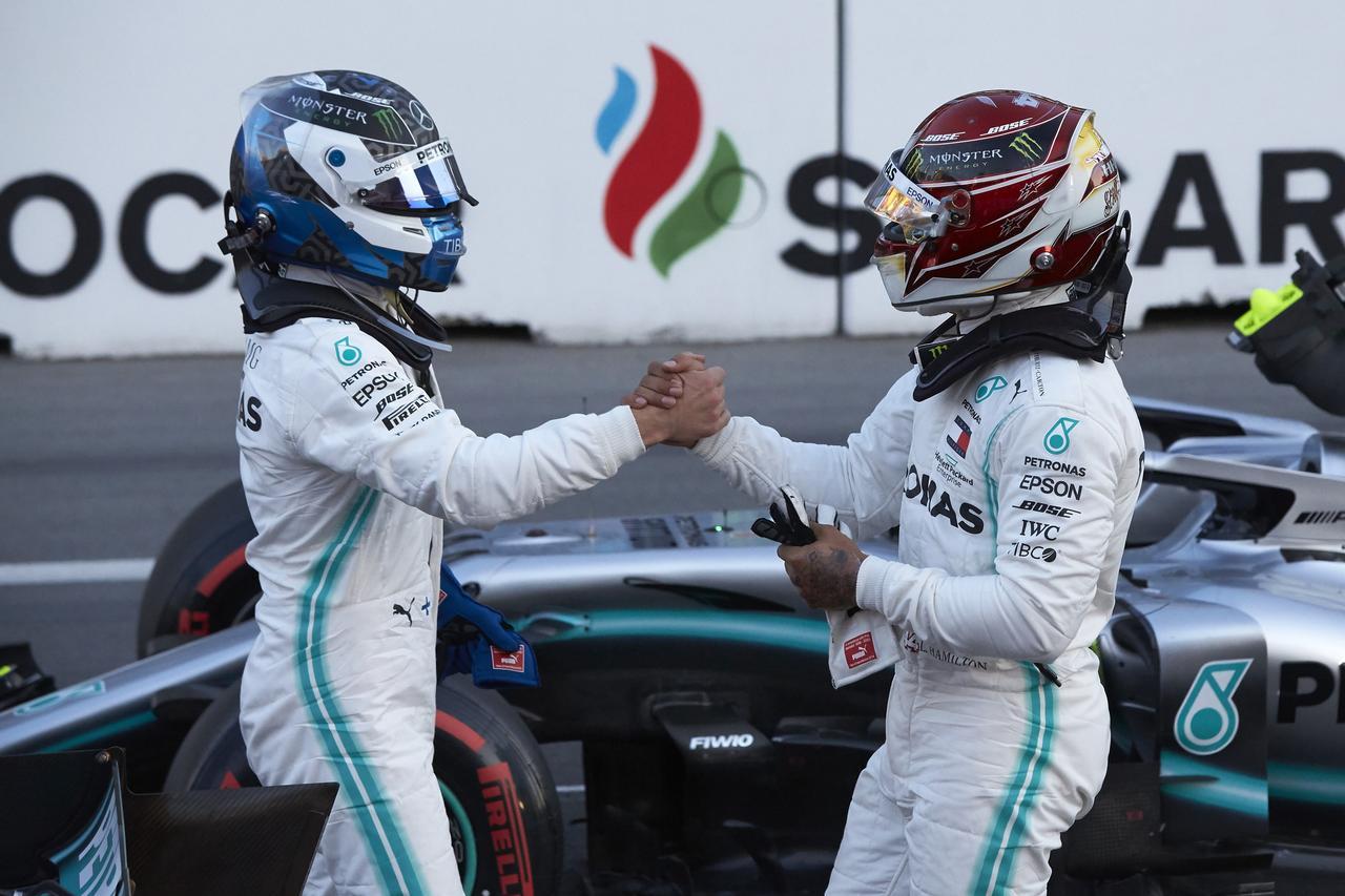 Images : 11番目の画像 - 「F1第4戦アゼルバイジャンGP 予選、メルセデスAMGがフロントロウを独占、レッドブル・ホンダのマックス・フェルスタペンは4位【モータースポーツ】」のアルバム - Webモーターマガジン
