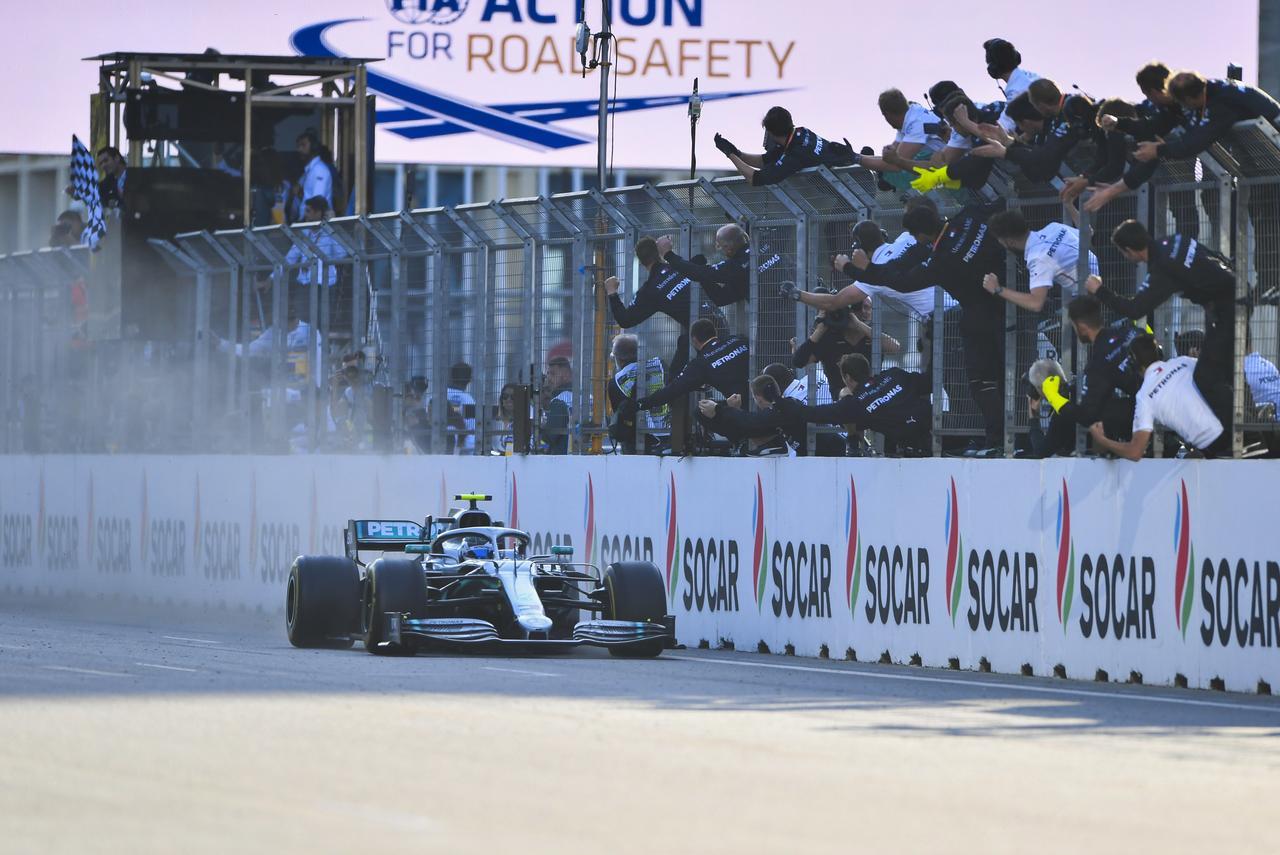 Images : 8番目の画像 - 「F1アゼルバイジャンGP、またもメルセデスAMGが1-2フィニッシュ! レッドブル・ホンダは連続4位【モータースポーツ】」のアルバム - Webモーターマガジン