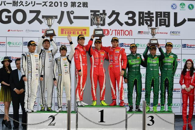 画像8: GTNET GT3 GT-Rが巧みなレース運びで勝利!【スーパー耐久シリーズ第2戦】in スポーツランドSUGO