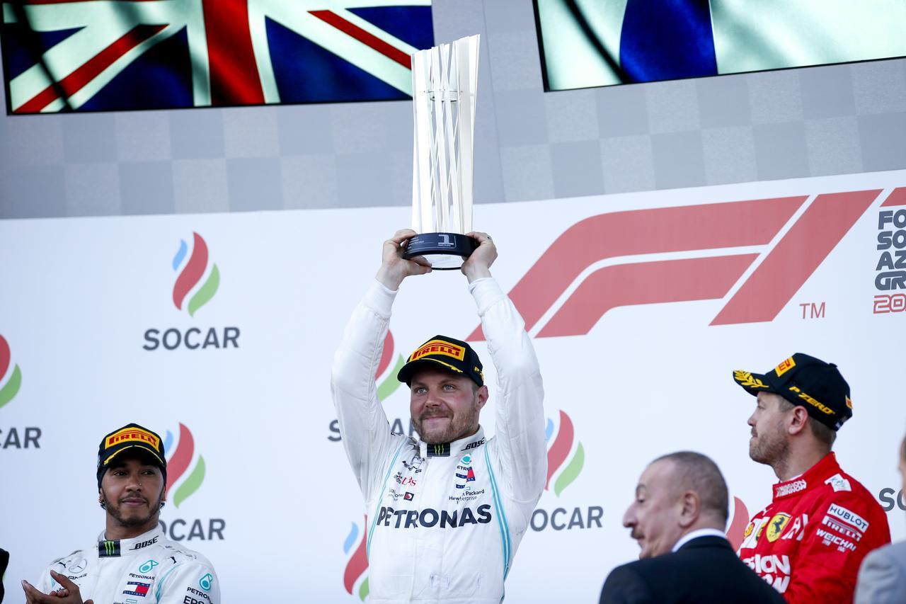 Images : 27番目の画像 - 「F1アゼルバイジャンGP、またもメルセデスAMGが1-2フィニッシュ! レッドブル・ホンダは連続4位【モータースポーツ】」のアルバム - Webモーターマガジン