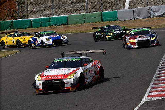 画像2: GTNET GT3 GT-Rが巧みなレース運びで勝利!【スーパー耐久シリーズ第2戦】in スポーツランドSUGO