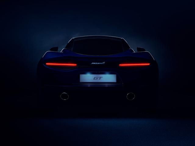 画像: 日本時間で2019年5月15日21時に公開される新型車マクラーレンGTのティザー画像。