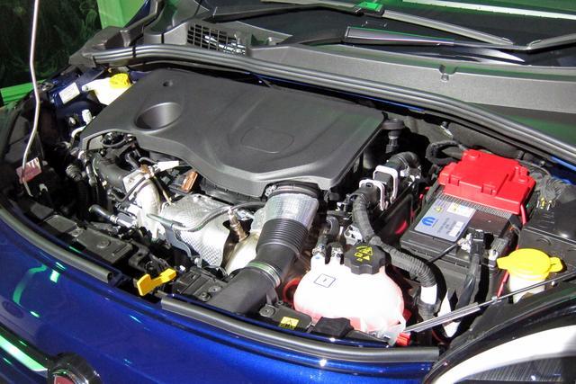 """画像: フィアットの新世代オールアルミ製""""ファイアフライ""""ターボエンジン。"""