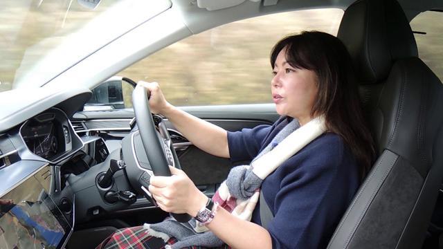 画像: 竹岡 圭の今日もクルマと・・・アウディA8 & A7スポーツバック Test Drive youtu.be
