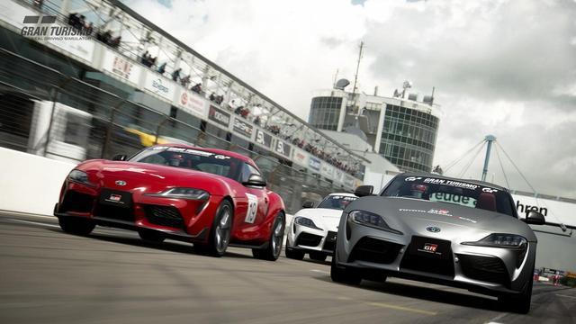 画像: 2019年4月からすでにはじまっているトヨタの「GRスープラ GTカップ」。これはグランツーリスモ SPORTのゲーム画面。