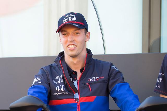 画像: フリー走行2回目でトップ10に入ったダニール・クビアト(トロロッソ・ホンダ)。