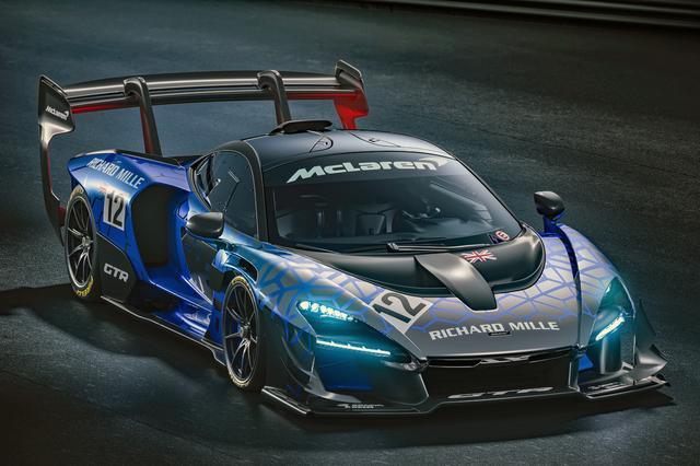画像: まさにレーシングカーそのものといったスタイルのマクラーレン・セナGTR。