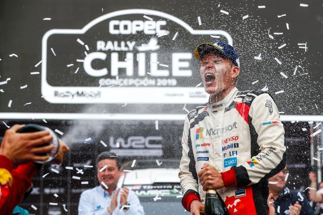画像: 今季2勝目をあげランキング2位に浮上したトヨタのオィット・タナック。