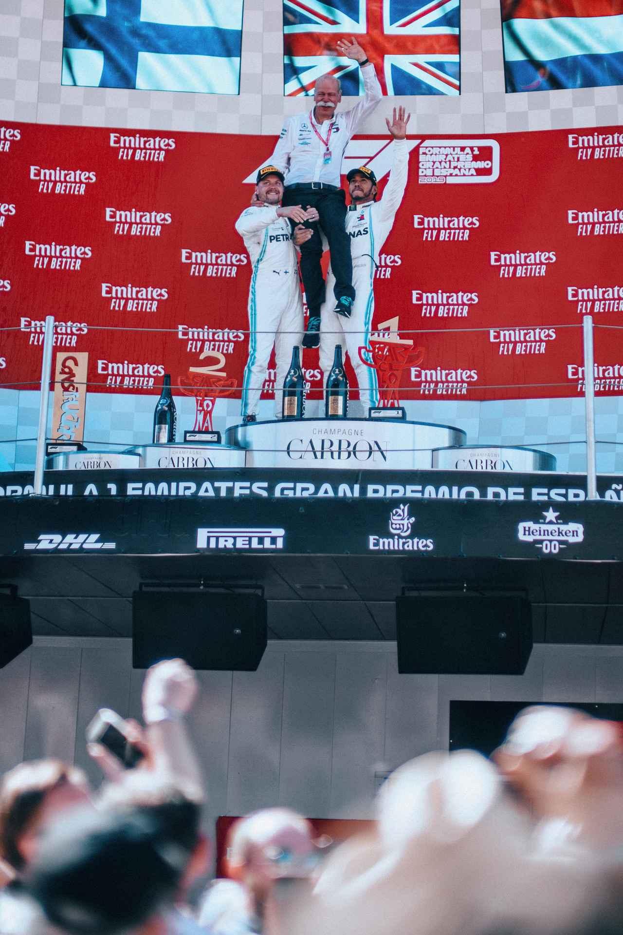 Images : 17番目の画像 - 「F1スペインGP、メルセデスAMGが開幕5連続1-2フィニッシュ、レッドブル・ホンダのフェルスタッペンが3位表彰台【モータースポーツ】」のアルバム - Webモーターマガジン