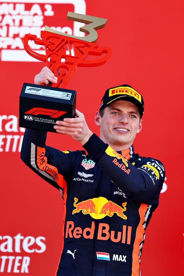 画像: スペインGPで3位に入ったマックス・フェルスタッペン(レッドブル・ホンダ)。最後のスティントでのメルセデスとの戦いに注目が集まったが、セーフティカー導入でそのチャンスを失ったのは残念。