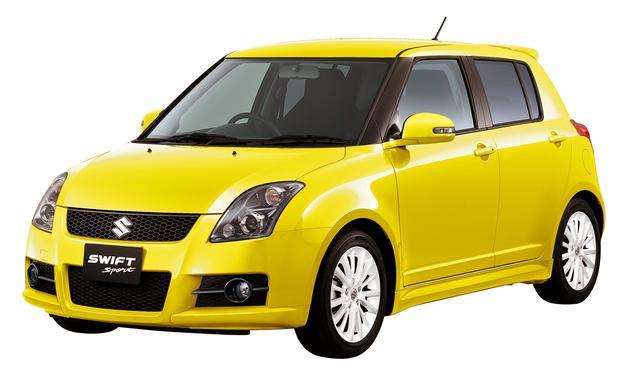 画像: 2008年12月に発売された特別仕様車「Sリミテッド」は、車体同色のボディパーツやホワイトホイール、そしてレカロシートなどを装備していた。