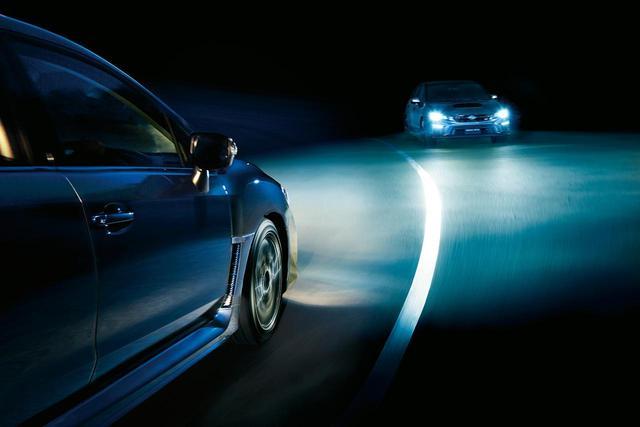 画像: スバル WRXのハイビームアシスト作動条件を「30km/hから」に変更。