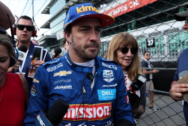 画像: フェルナンド・アロンソ(マクラーレン・レーシング)は予選通過ならず。プラクティスでのクラッシュが痛かった。