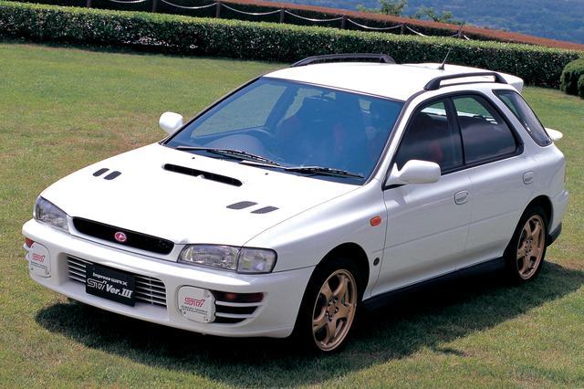 画像: WRX STiの走りとワゴンの実用性を併せ持つスポーツワゴンも人気が高かった。