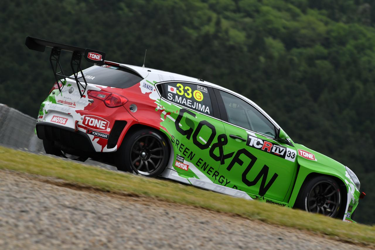 画像: サンデーシリーズで総合8位に入った前嶋秀司(GO&FUN Squadra Corse)のアルファロメオ・ジュリエッタTCR。