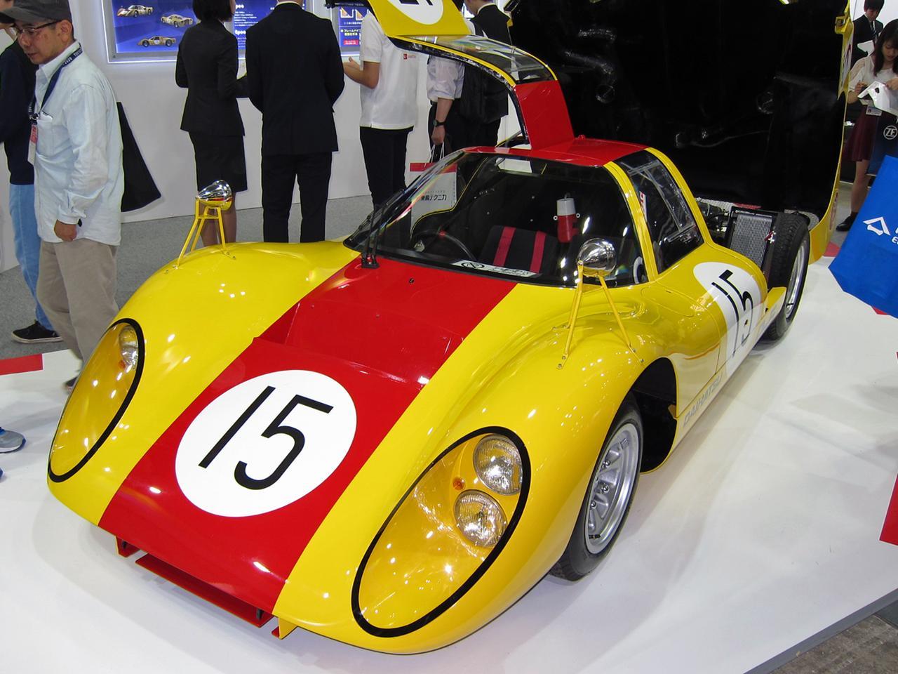 画像: 懐かしのレーシングカー、ダイハツ P5