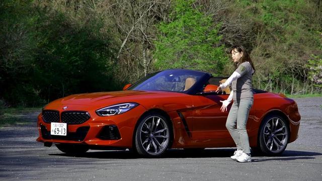画像: 竹岡 圭の今日もクルマと・・・BMW Z4 Test Drive youtu.be