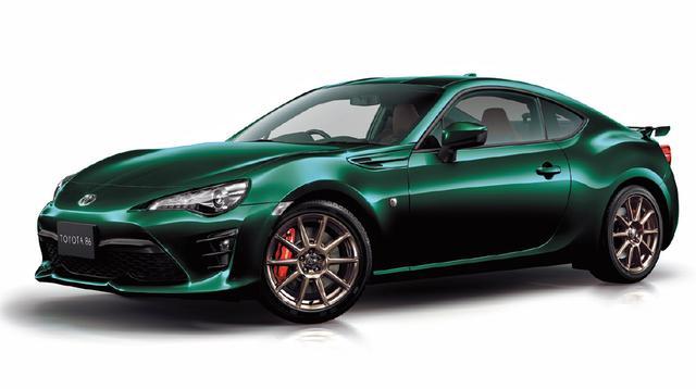画像: 外板色に特別設定色ブリティッシュグリーンを採用したほか、専用装備をおごる特別仕様車「GT ブリティッシュグリーンリミテッド」を2019年2月12日~5月31日まで期間限定発売。