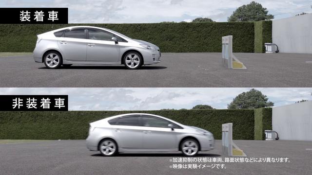 画像: 踏み間違い加速抑制システム youtu.be