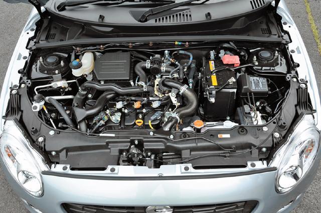 画像: エンジンは658ccターボで、吸気バルブの開閉タイミングを変えるDVVTを採用し、低回転からのトルク特性を向上している。