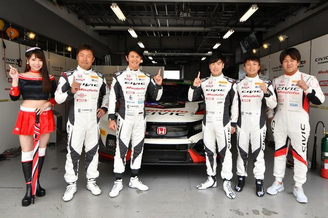 画像1: Team DreamDrive 3年越しの初勝利は24Hウィン!【スーパー耐久シリーズ第3戦】富士24時間レース ST-TCRクラス