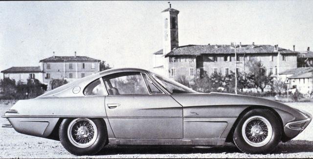 画像: 1963年のトリノショーでデビューを飾ったプロトタイプ「ランボルギーニ350GTV」。
