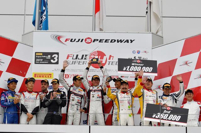 画像12: Team DreamDrive 3年越しの初勝利は24Hウィン!【スーパー耐久シリーズ第3戦】富士24時間レース ST-TCRクラス