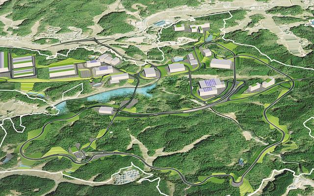 画像: 「Toyota Technical Center Shimoyama」完成予想図。東京ドーム140個分に相当する広大な敷地は、里山の環境保全にも配慮されている。総工費はおよそ3,000億円!
