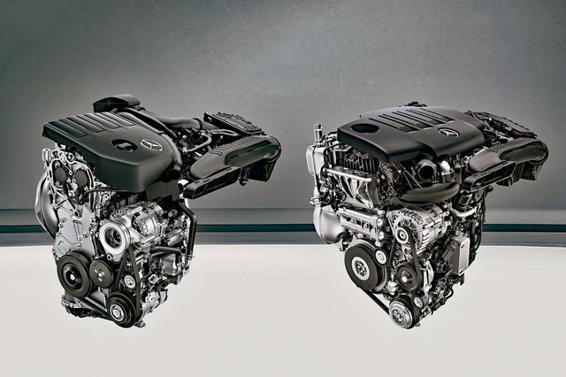 画像: 写真左が1.4Lのガソリンターボ、右が2.0Lのディーゼルターボエンジン。