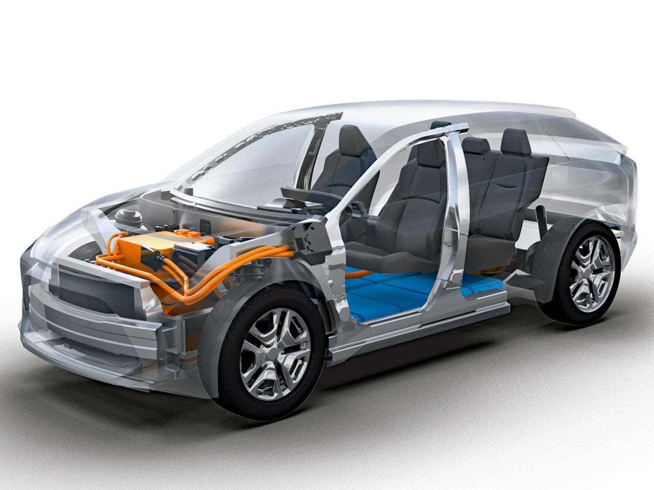 Images : 1番目の画像 - トヨタとスバルがEV共同開発 - Webモーターマガジン