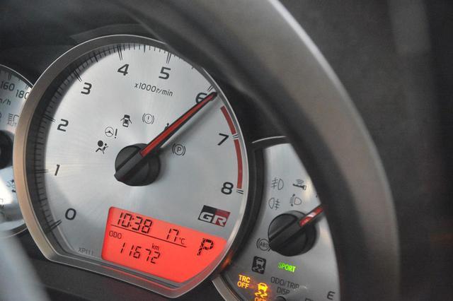 画像: 走行中は最高出力を発生する6100rpmを常に維持する、トヨタのスポーツCVT。