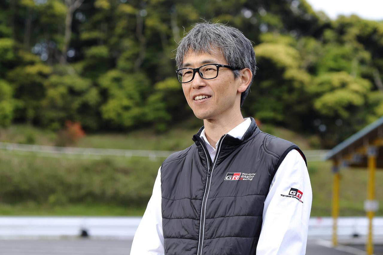 画像: スポーツCVTの開発担当者、高原秀明氏。モータースポーツの分野は未知の世界だったという。